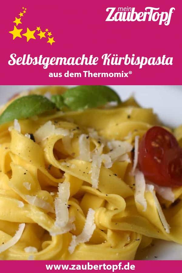 Kürbispasta aus dem Thermomix® – Foto: Nicole Stroschein