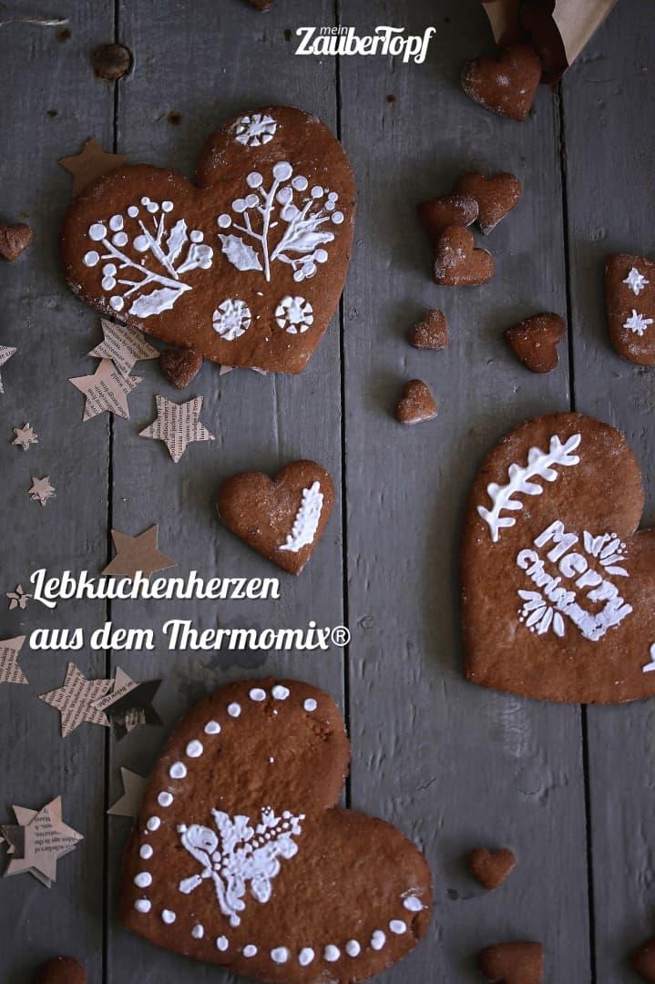 Lebkuchenherzen aus dem Thermomix® – Foto: Tina Bumann