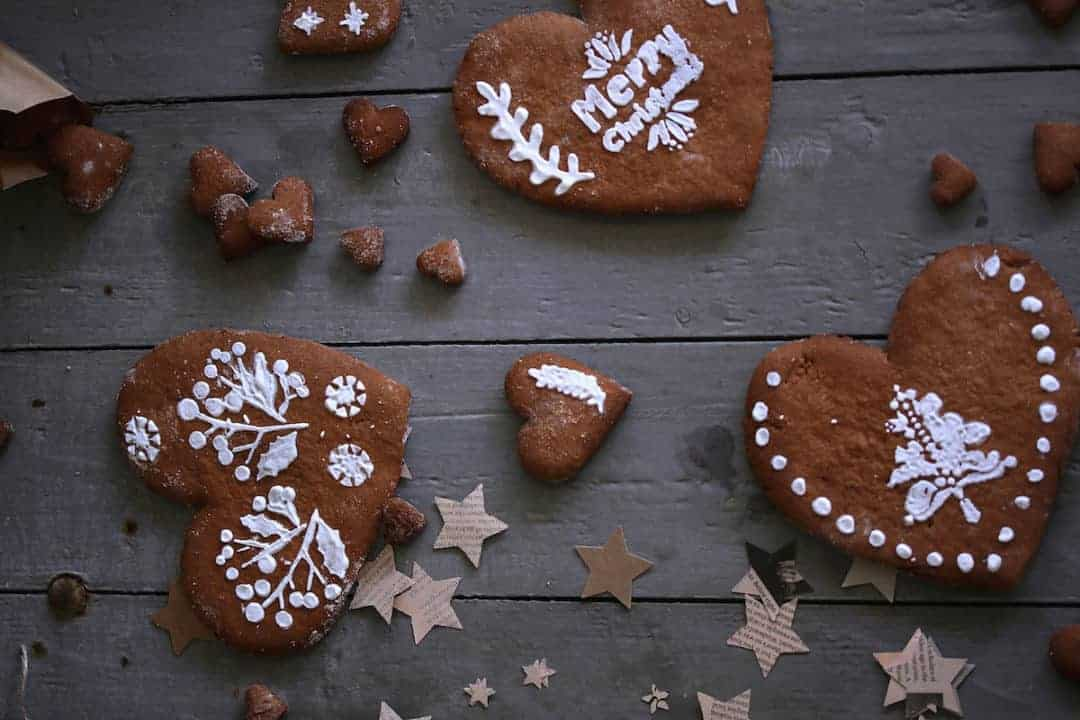Köstliche Lebkuchenherzen – Foto: Tina Bumann