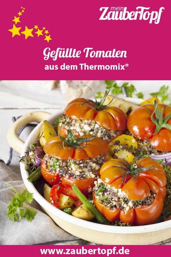 Gefüllte Tomaten aus dem Thermomix® – Foto: Frauke Antholz