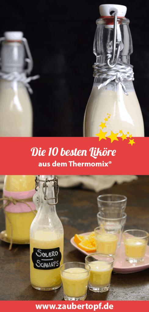 Die 10 besten Liköre aus dem Thermomix® – Fotos: Nicole Stroschein, Kathrin Knoll