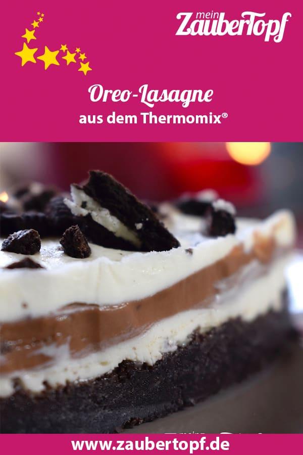 Oreolasagne aus dem Thermomix® – Foto: Nicole Stroschein