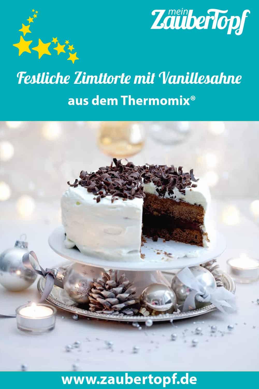 Zimttorte mit Vanillesahne aus dem Thermomix® – Foto: Ira Leoni