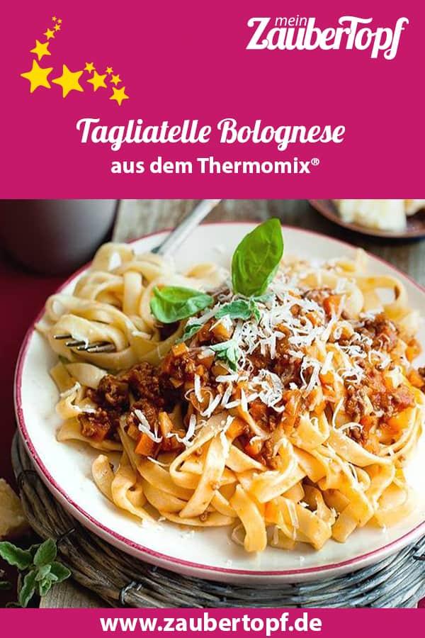 Tagliatelle Bolognese auf klassische Art aus dem Thermomix® – Foto: Ira Leoni