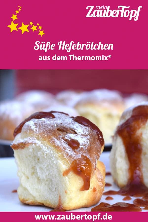 Süße Hefebrötchen aus dem Thermomix® – Foto: Nicole Stroschein