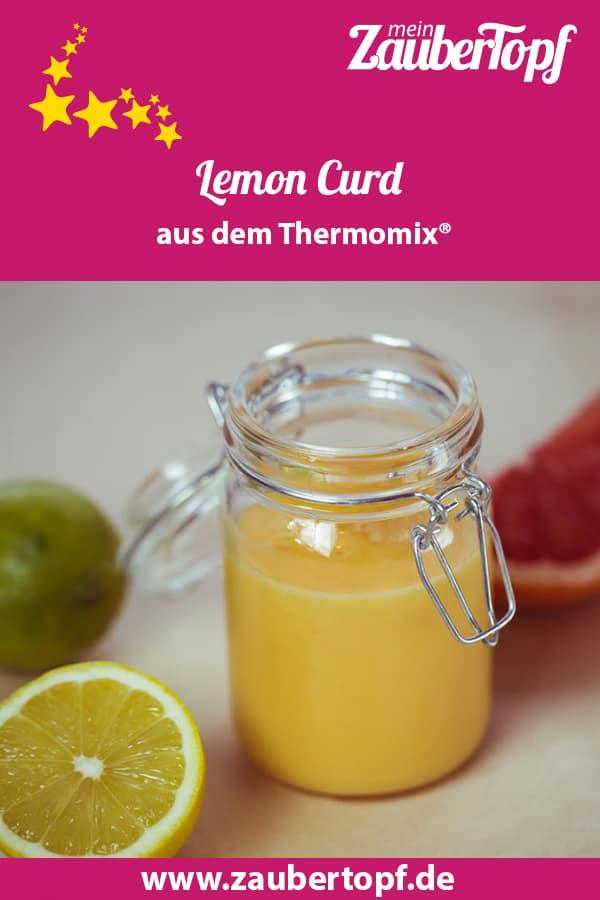 Lemon Curd mit Limette und Grapefruit aus dem Thermomix® – Foto: Ricarda Ohligschläger