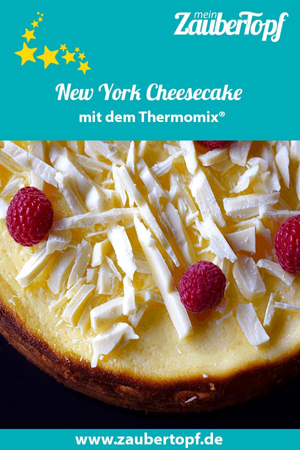 New York Cheesecake mit dem Thermomix® – Foto: Nicole Stroschein