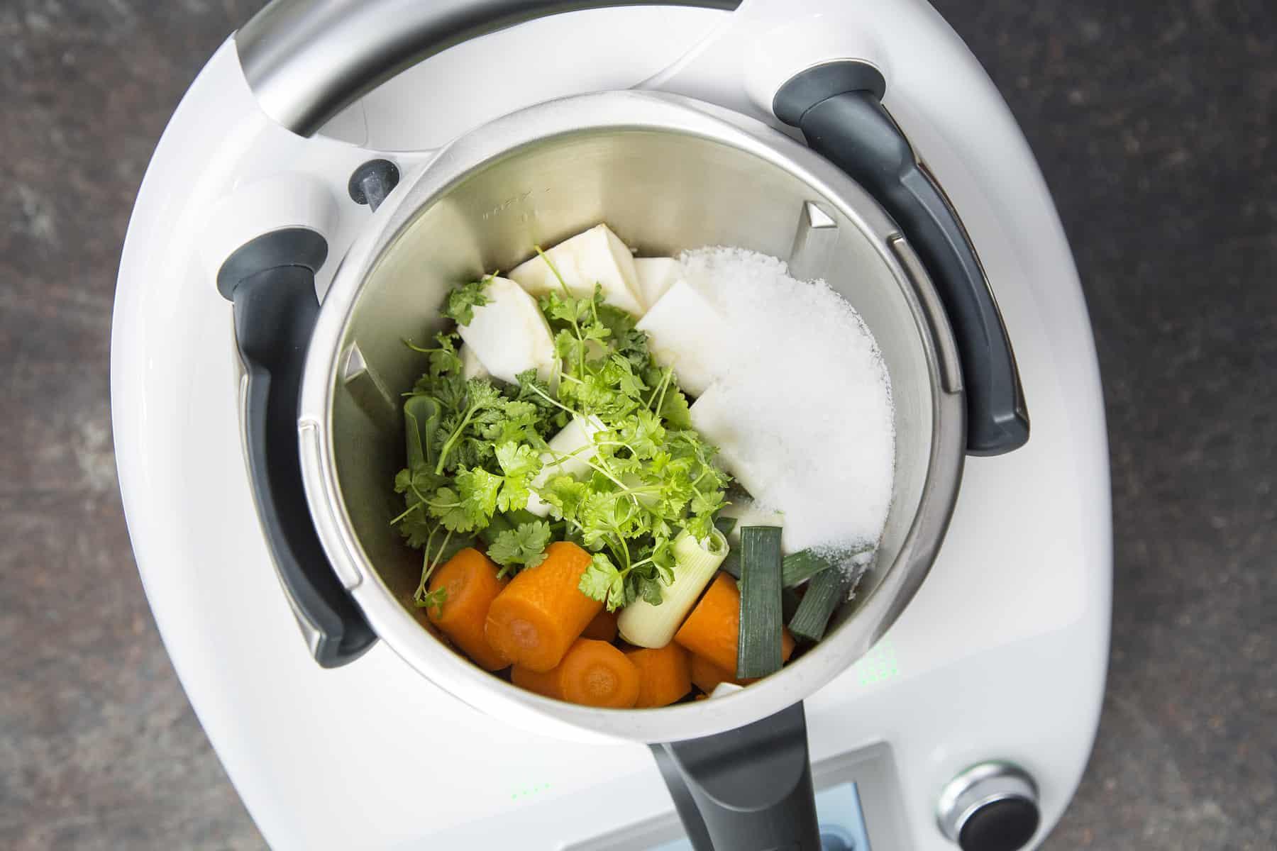Suppenpaste aus dem Thermomix® – Foto: Anna Gieseler