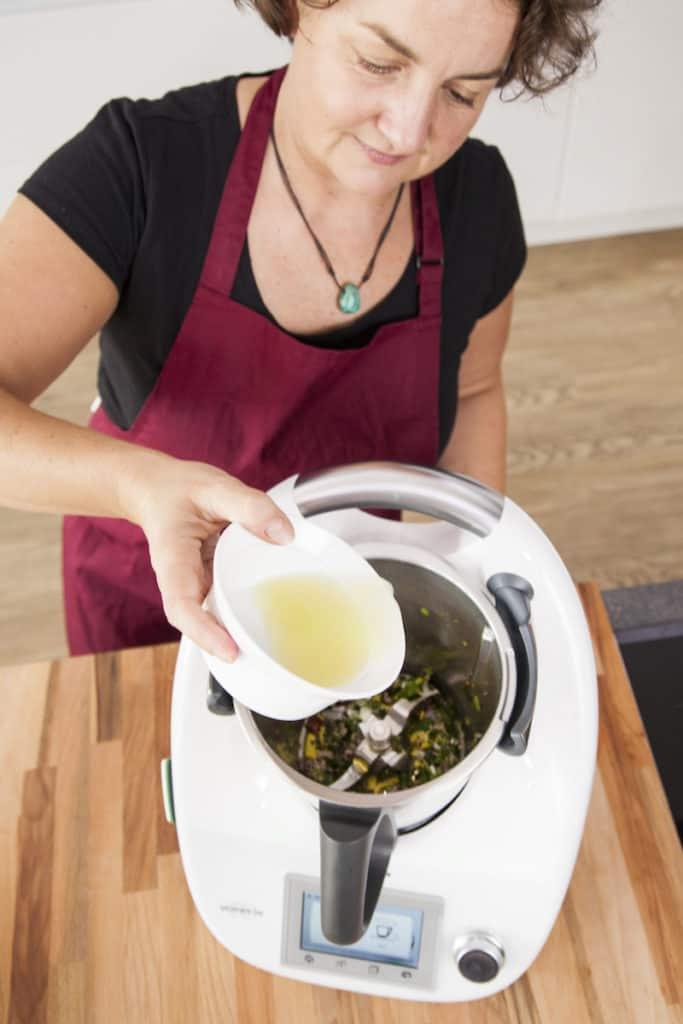 Avocadosalat mit Kichererbsen aus dem Thermomix® – Foto: Kathrin Knoll