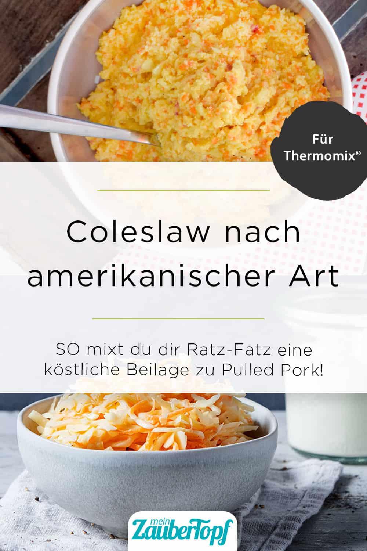 Coleslaw aus dem Thermomix® – Foto: Nicole Stroschein / Anna Gieseler