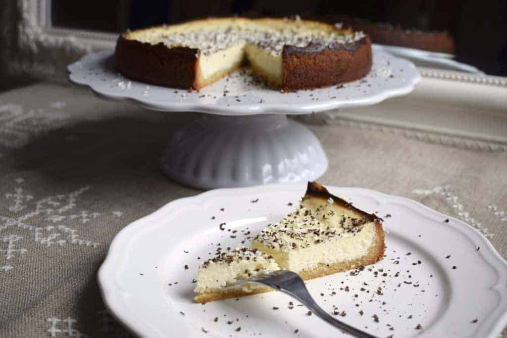 Ricotta-Cheesecake mit Amaretto aus dem Thermomix® – Foto: Nicole Stroschein