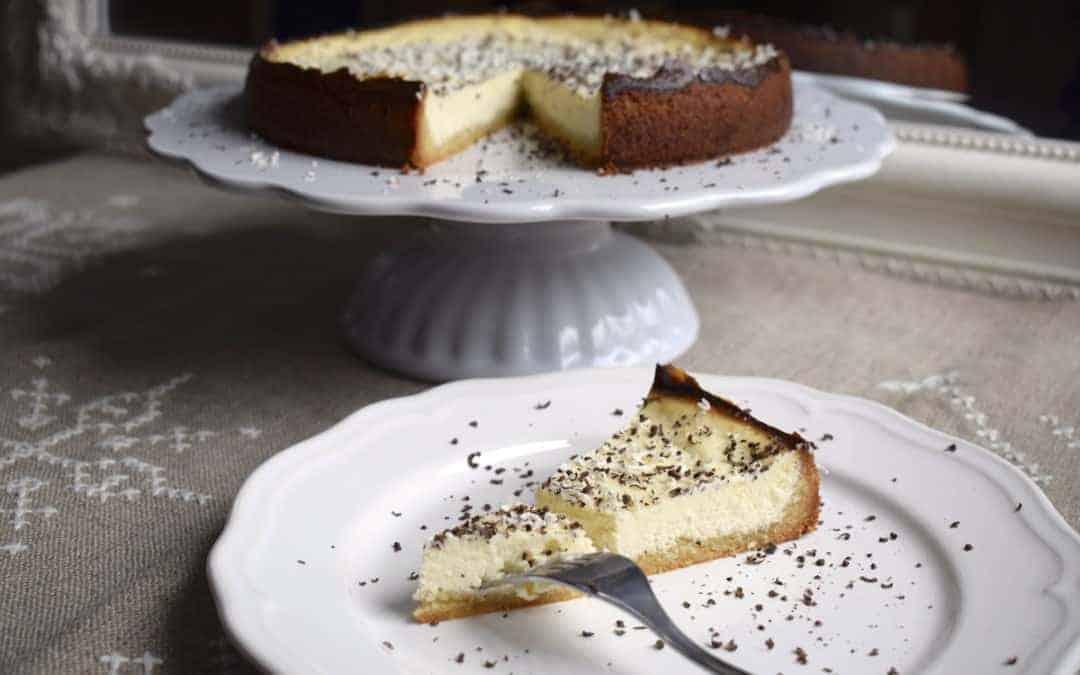 Ricotta-Cheesecake mit Amaretto