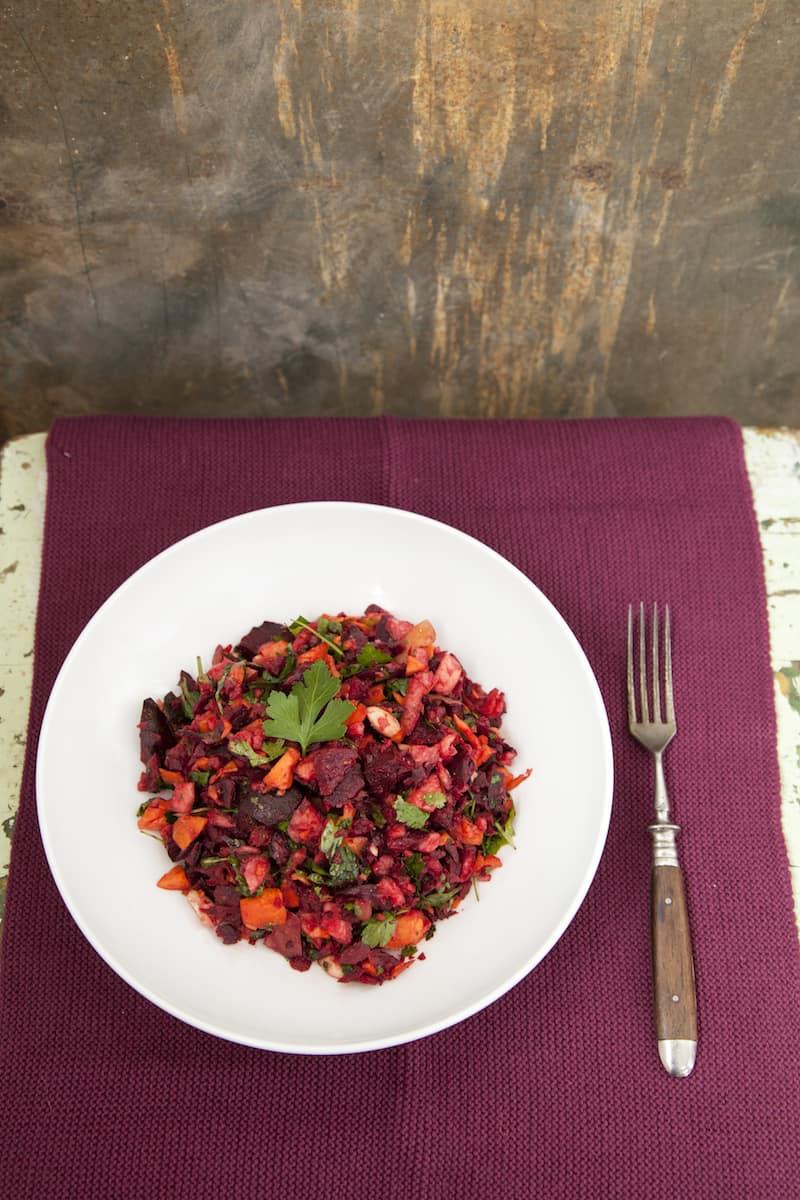 kerniger rote bete salat aus dem thermomix mein zaubertopf. Black Bedroom Furniture Sets. Home Design Ideas