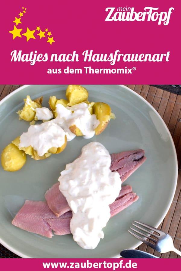 Matjes nach Hausfrauenart aus dem Thermomix® – Foto: Nicole Stroschein