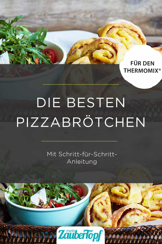 Pizzabrötchen mit dem Thermomix® – Foto: Nicky & Max