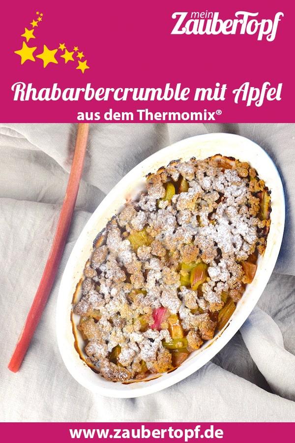 Rhabarber-Crumble – Foto: Nicole Stroschein