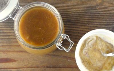 Rhabarberkompott mit Vanillesoße aus dem Thermomix®