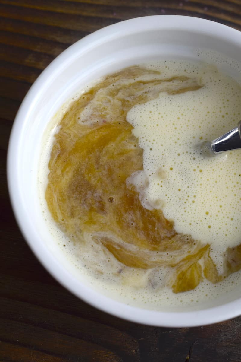 Rhabarberkompott mit Vanillesoße – Foto: Nicole Stroschein