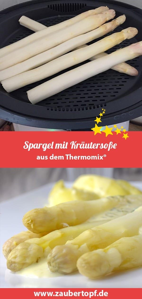 Spargel aus dem Thermomix® – Foto: Nicole Stroschein