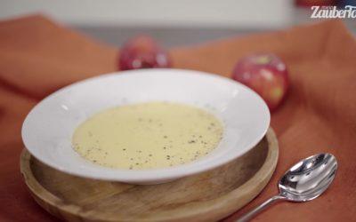 Steckrübensuppe mit Apfel