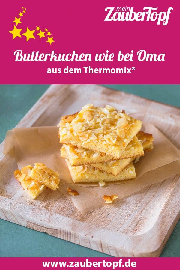 Butterkuchen mit Mandeln – Foto: Ricarda Ohligschläger