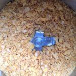 Die Cornflakes im Mixtopf