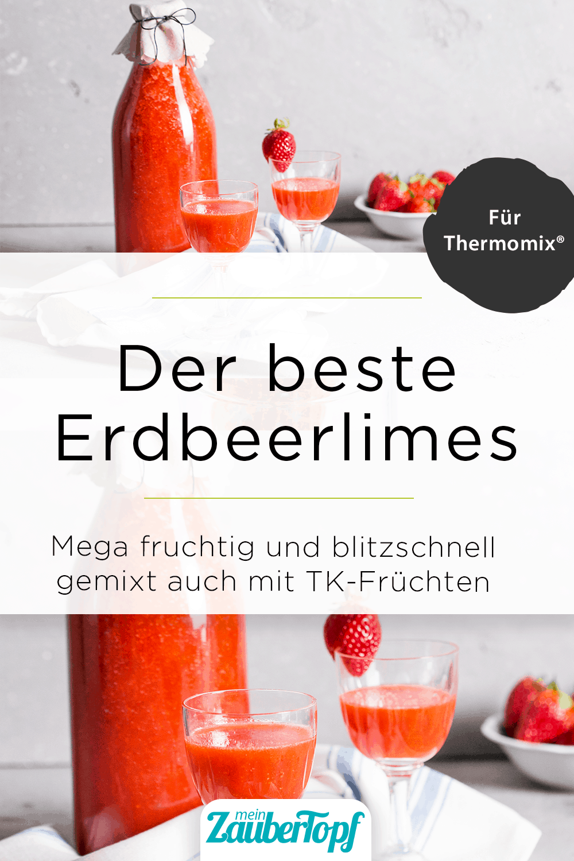 Erdbeerlimes aus dem Thermomix® – Foto: Kathrin Knoll