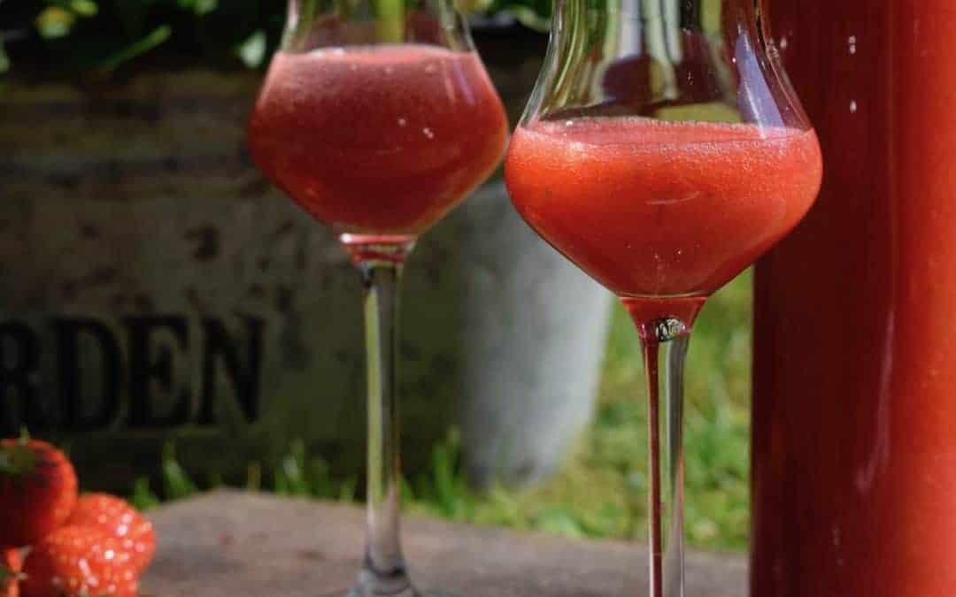 Erdbeerlimes mit einem Hauch Himbeer ❤️
