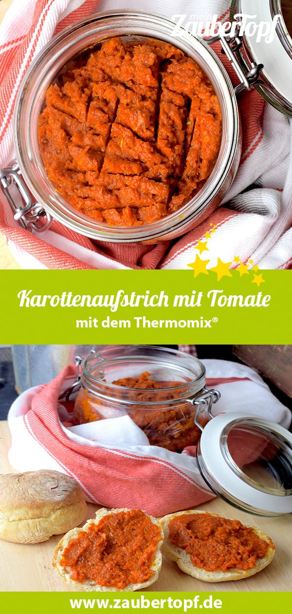Karottenaufstrich aus dem Thermomix® – Foto: Nicole Stroschein