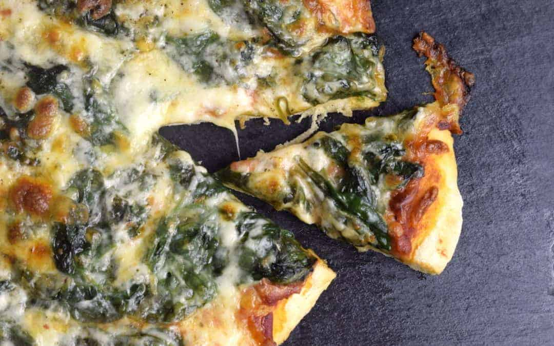 Spinat-Pizza aus dem Thermomix®