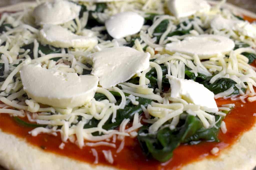 Pizza Spinat-Pizza Thermomix® Rezept