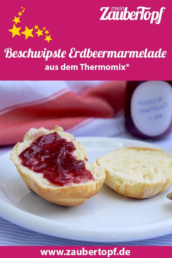 Beschwipste Erdbeermarmelade aus dem Thermomix® – Foto: Nicole Stroschein