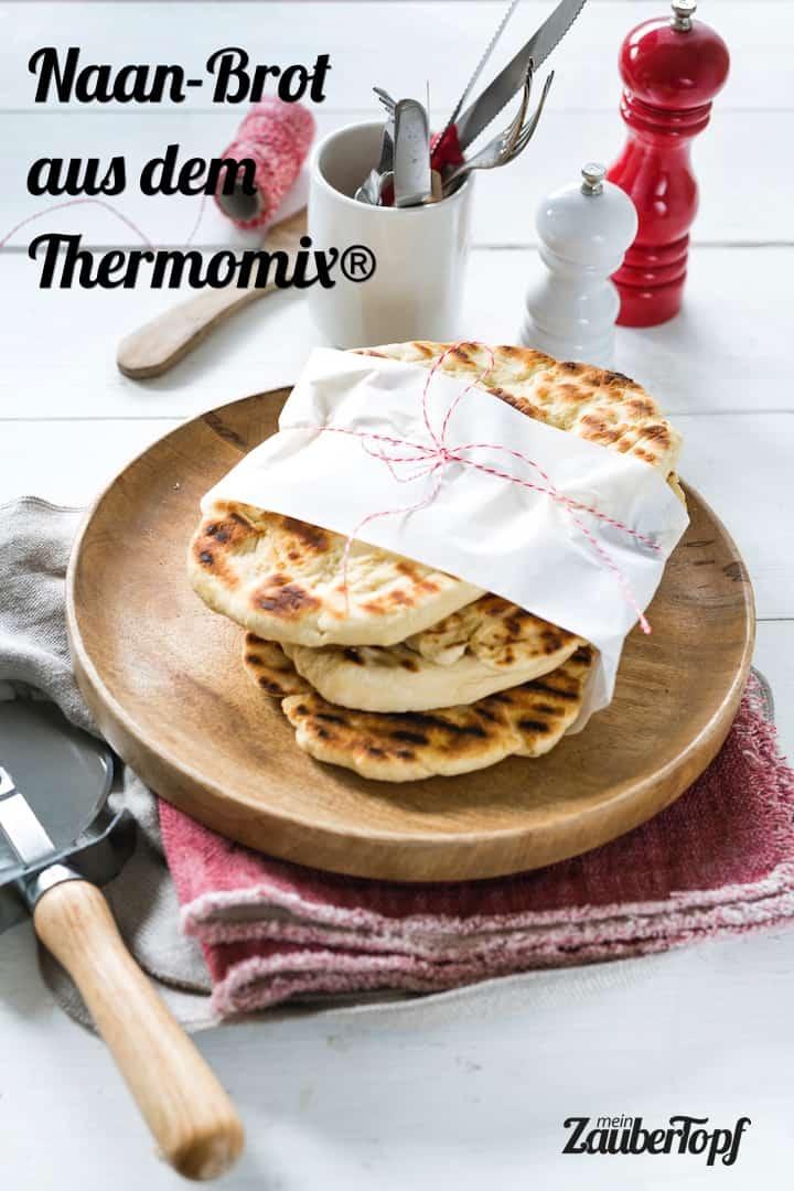 Naan-Brot aus dem Thermomix® – Foto: Tina Bumann