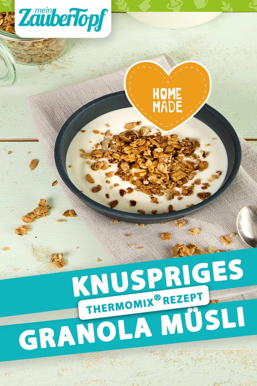 Granola aus dem Thermomix® – Foto:Anna Gieseler