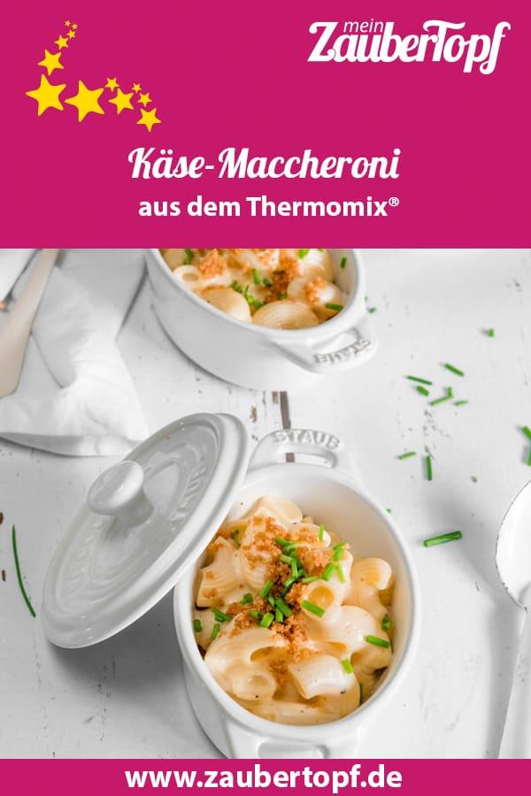 Käse-Maccheroni aus dem Thermomix® – Foto: Tina Bumann