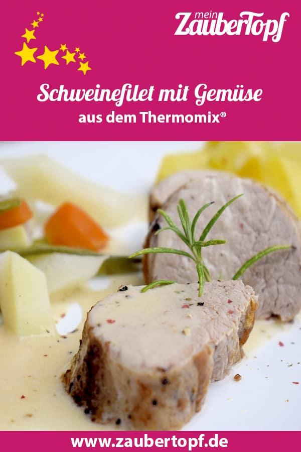 Schweinefilet mit Gemüse und Kartoffeln aus dem Thermomix® – Foto: Nicole Stroschein