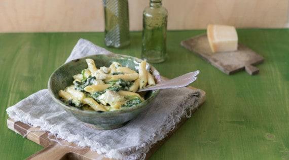 Spinat-Kabeljau-Pasta aus dem Thermomix® – Foto: Tina Bumann