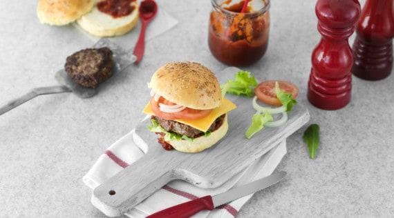 Perfekte Burger aus dem Thermomix® – Foto: Tina Bumann