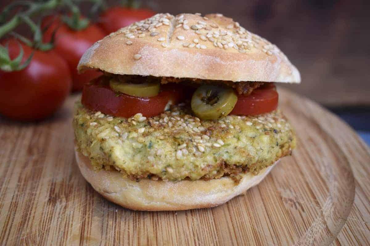 Falafelburger aus dem Thermomix® – Foto: Nicole Stroschein