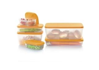 15 x 6-teiliges Kühlschrank-Behälter-Set von Tupperware