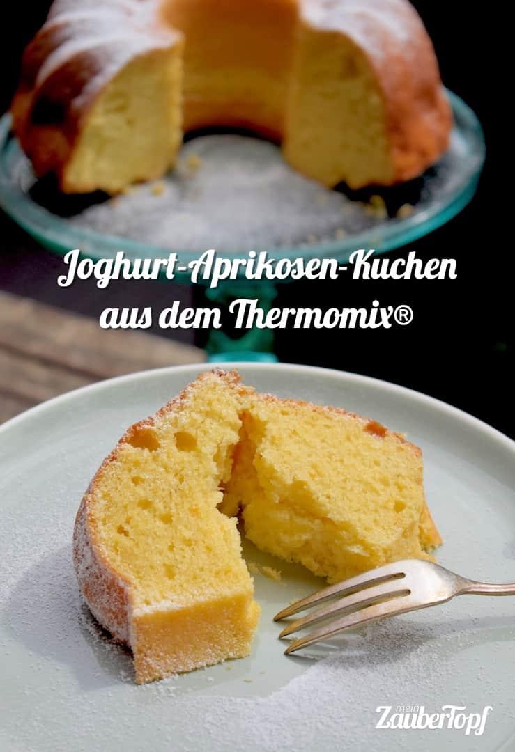 Joghurt-Aprikosen-Kuchen aus dem Thermomix® – Foto: Nicole Stroschein
