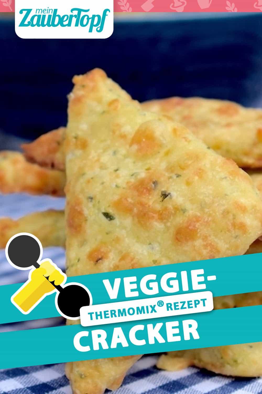 Veggie Cracker aus dem Thermomix® – Foto: Nicole Stroschein