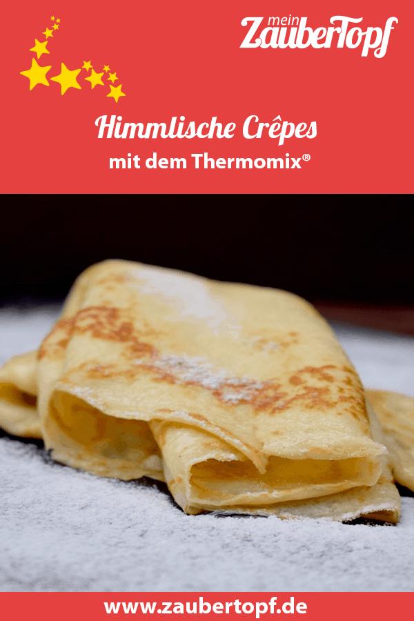 Crêpes aus dem Thermomix® – Foto: Nicole Stroschein