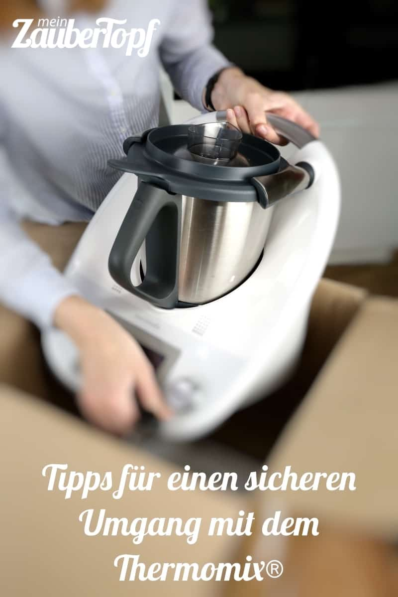Thermomix® richtig transportieren - Foto: Kathrin Knoll