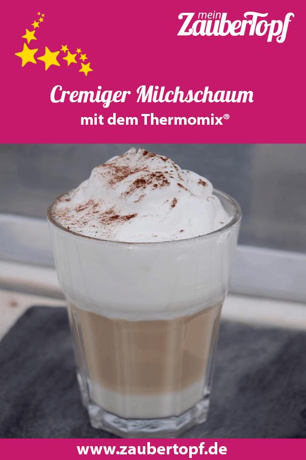 MIlchschaum aus dem Thermomix® – Foto: Nicole Stroschein