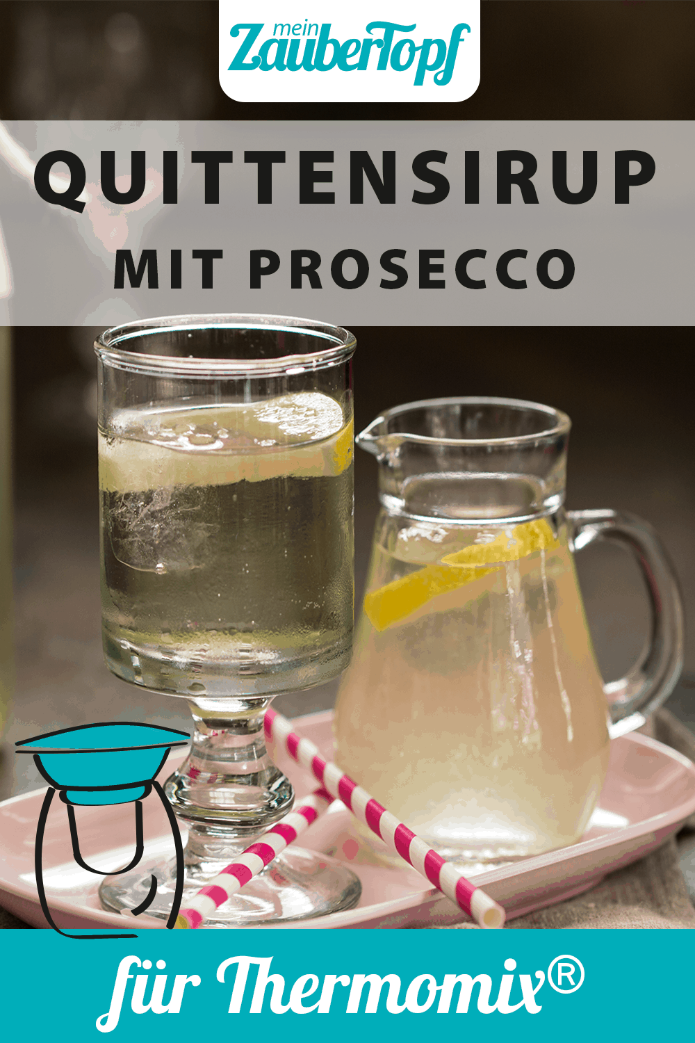 Quittensirup mit Prosecco aus dem Thermomix® – Foto: Kathrin Knoll