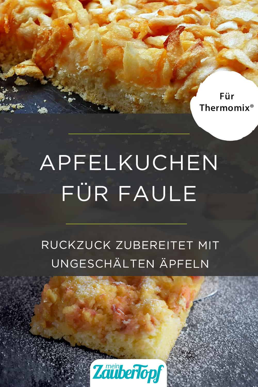 Apfelkuchen aus dem Thermomix® – Foto:  MrGajowy3 / Pixabay & Nicole Stroschein
