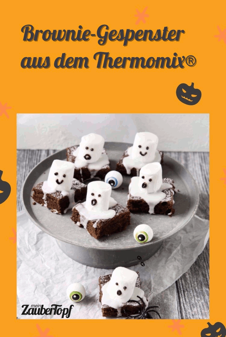 Brownie-Gespenster aus dem Thermomix® - Foto: Désirée Peikert