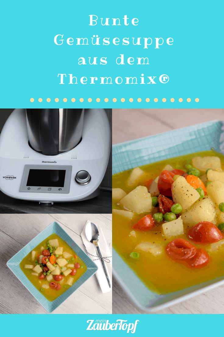 Gemüsesuppe mit Curry aus dem Thermomix® –Foto: Nicole Stroschein