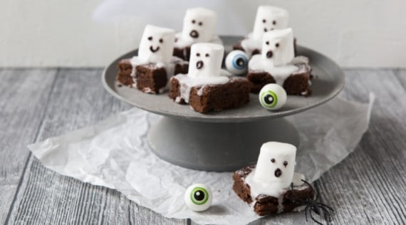 Brownie Gespenster aus dem Thermomix® – Foto: Désirée Peikert